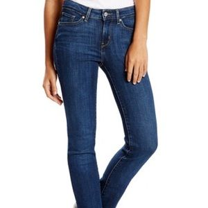 Levi's 714 Straight Ankle Jeans 25